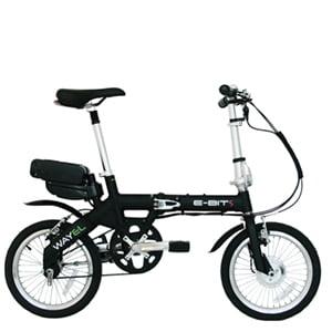 bicicleta electrica plegable E-BIT-S Comodidad y personalización