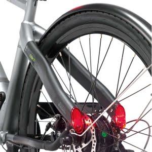 luz trasera integrado en el cuadro - bicicleta electrica milano avanguardia