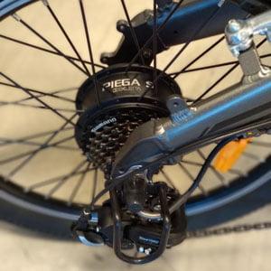 bicicleta eléctrica plegable PIEGA S
