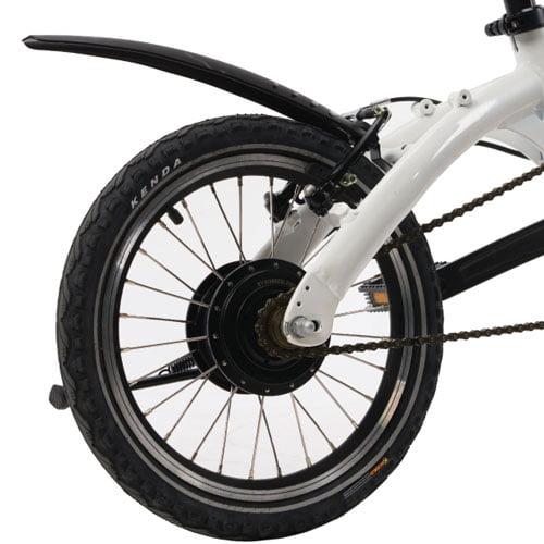 Motor trasero - Bicicleta eléctrica plegable Mini