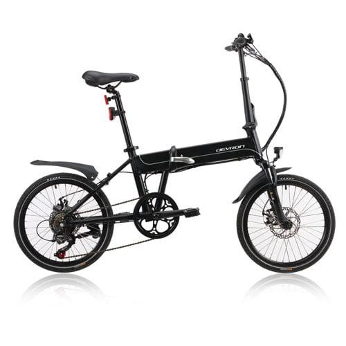 Bicicleta eléctrica plegable - Devron 201