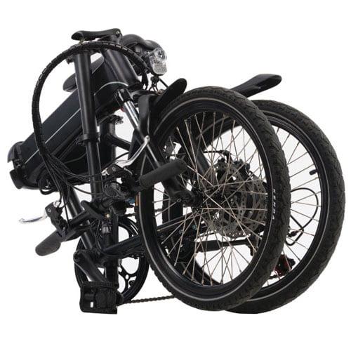 plegada - Bicicleta eléctrica plegable - Devron 201