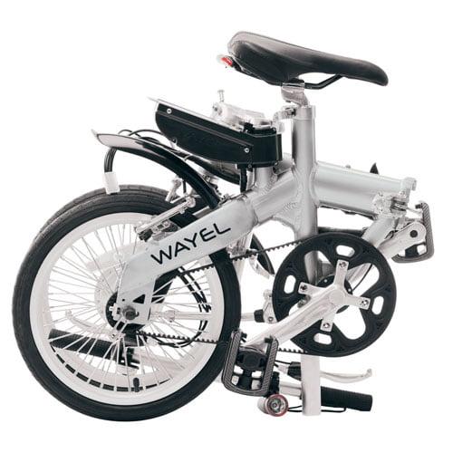 Bicicleta eléctrica plegable E-BIT S - plegada