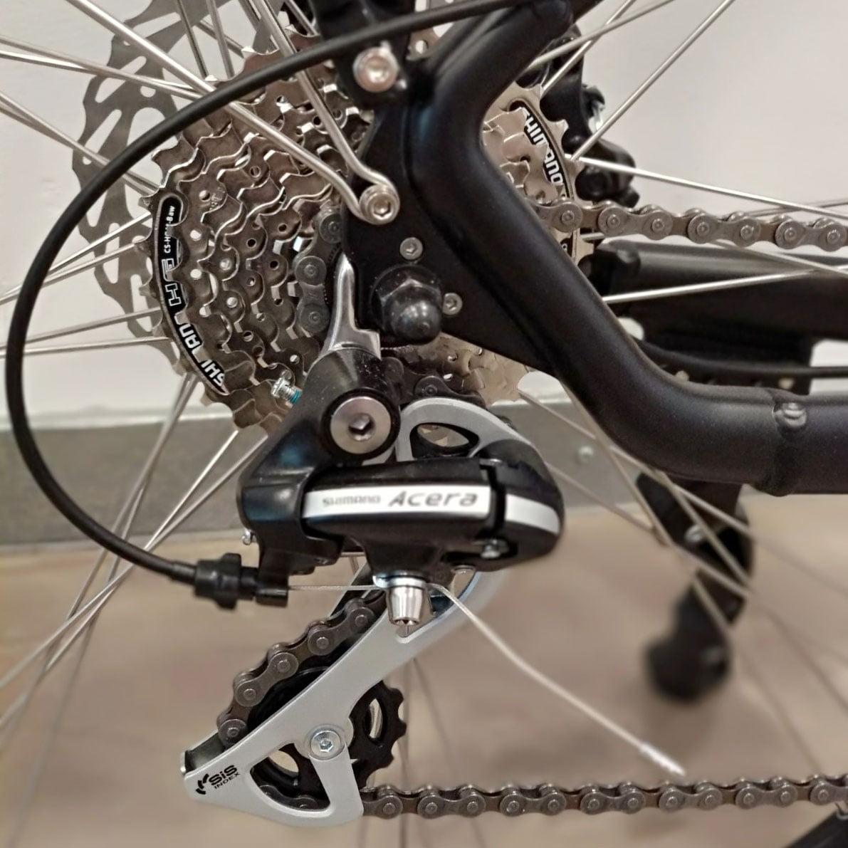 Bicicleta eléctrica Trail Advanced - Cambio Shimano Acera