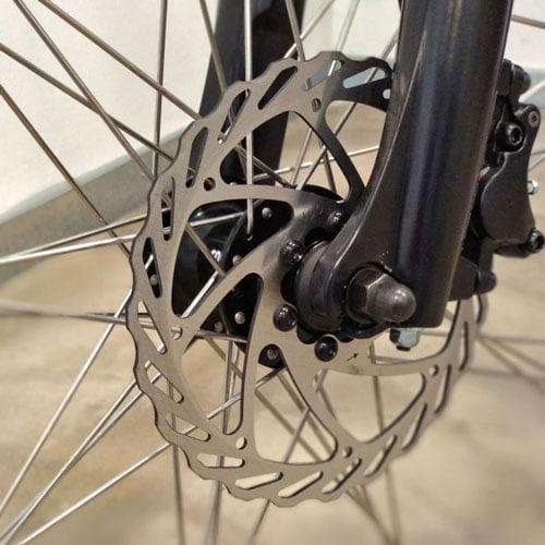 freno de disco bicicleta eléctrica Trail Advanced