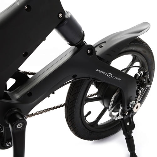 Bicicleta eléctrica Velox - freno de disco, motor, suspensión trasera