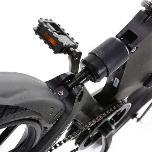 suspensión trasera bicicleta eléctrica Velox