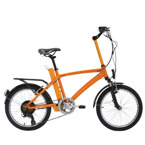 Bicicleta eléctrica Gotham naranja