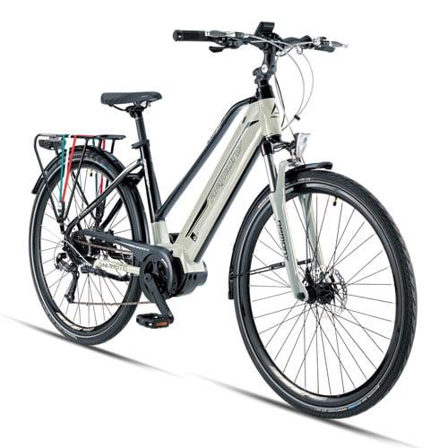 Bicicleta eléctrica Trekking Sanremo