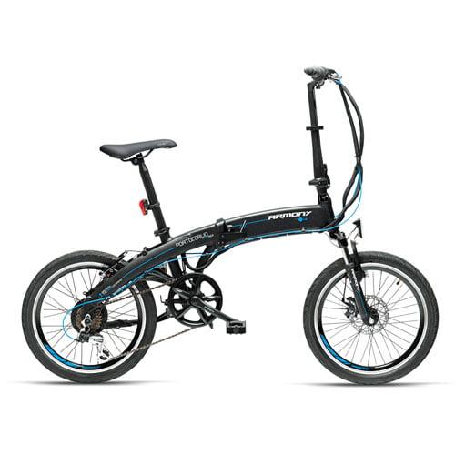 Bicicleta eléctrica plegable ARMONY negra