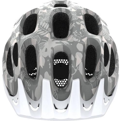 Casco para bicicleta urbano ACE ABUS gris frontal