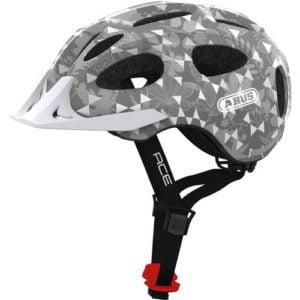 Casco para bici urbano gris ACE ABUS perfil