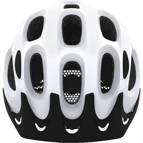 Casco urbano para bicicleta ACE ABUS blanco frontal