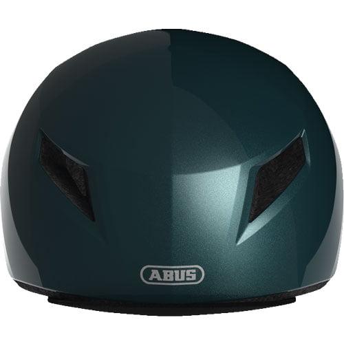 Comprar casco de bicicleta ABUS esmeralda frontal