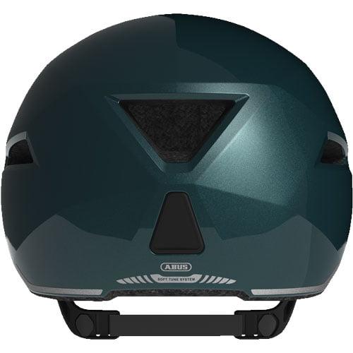 Comprar casco de bicicleta ABUS esmeralda posterior