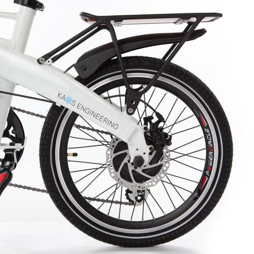 freno de disco hidraulico bicicleta plegable electrica Ibiza Littium