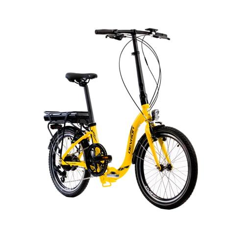 bicicleta eléctrica plegable Devron 20122