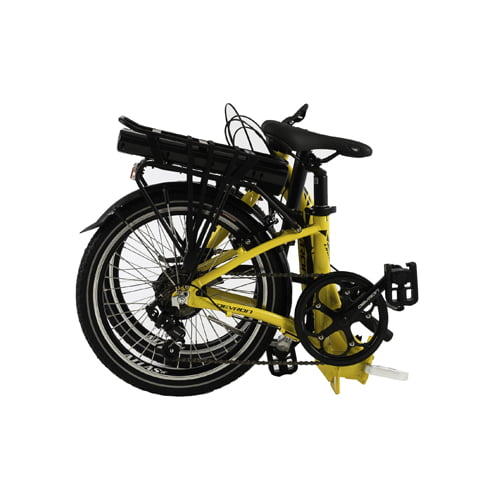 bicicleta eléctrica plegable Devron 20122 plegada