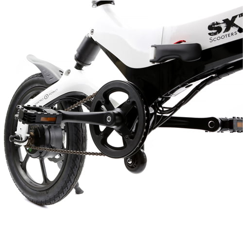 mecanismo plegado bicicleta eléctrica plegable Velox