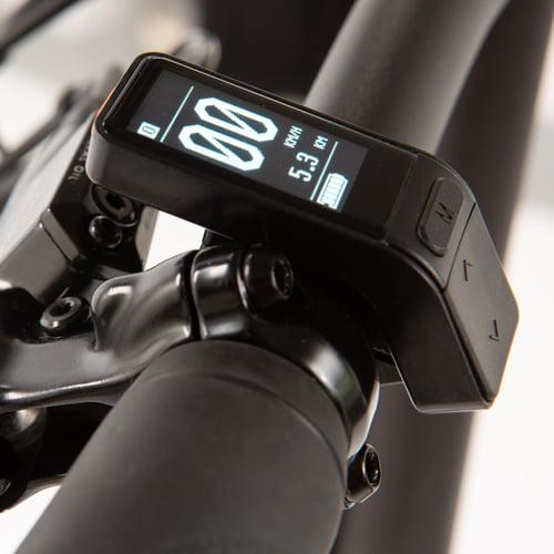 display bicicleta electrica plegable - Littium IBIZA TITANIUM
