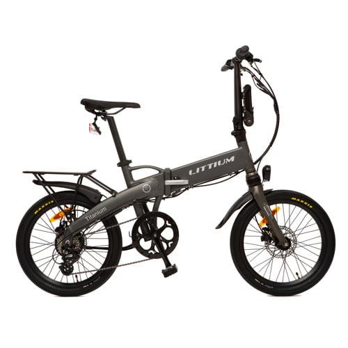 bicicleta electrica plegable - Littium IBIZA TITANIUM
