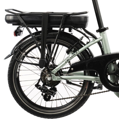 bicicleta eléctrica plegable Devron