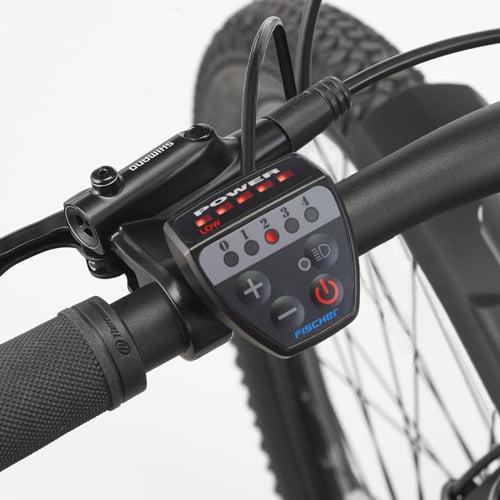 display bicicleta de montaña eléctrica - MTB eléctrica Fischer