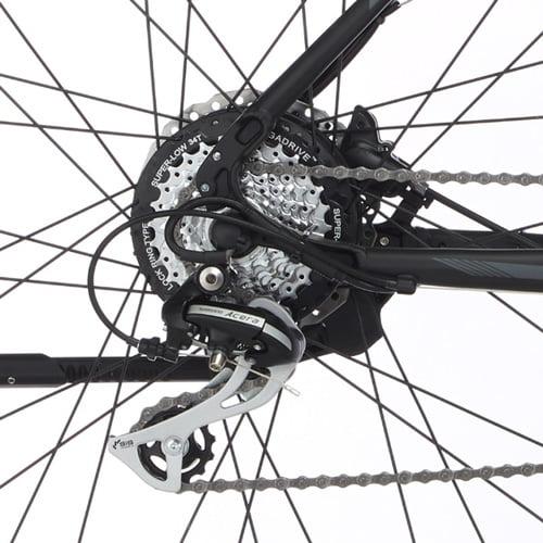 cambio Shimano Acera bicicleta de montaña eléctrica - MTB eléctrica Fischer