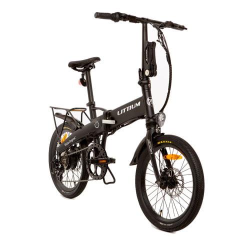 bicicleta eléctrica IBIZA DOGMA 03 negro