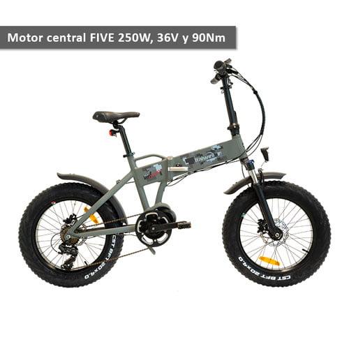 bicicleta electrica plegable con motorcentral K2Max Italwin - URBAN ZERO