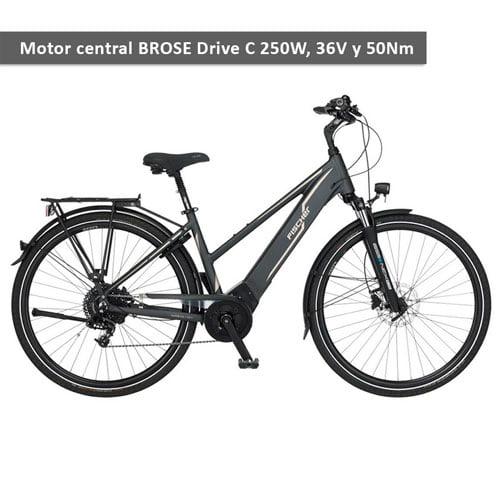 Bicicleta eléctrica Trekking Viator 5.0i de Fischer - URBAN ZERO